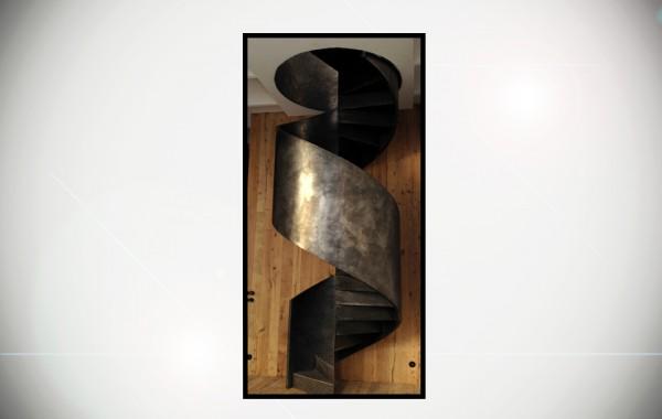 Escalier «Ruban»